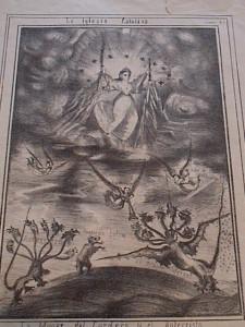 La Virgen luchando contra el Anticristo, el Dragón Infernal y los Falsos profetas