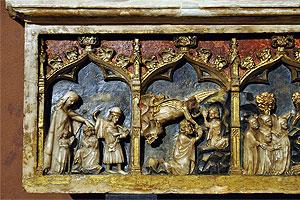 sarcófago de San Daniel