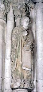 portadora de la última profecía, Catedral de Santiago de Compostela