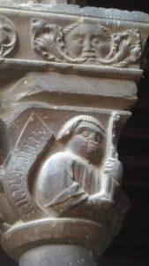 Capitel del monasterio de Ripoll