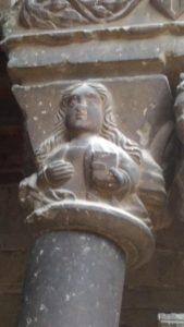 Capitel del claustro de Ripoll